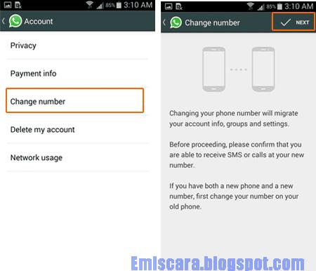 Cara Mengganti Nomor HP WhatsApp