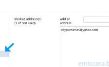 Panduan Cara Memblokir Alamat Email Pada Email Yahoo
