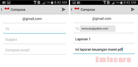 Cara Mengirim Email dan File Lewat Gmail di HP Android