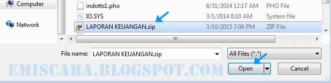 Melampirkan Folder Lewat Email Yahoo