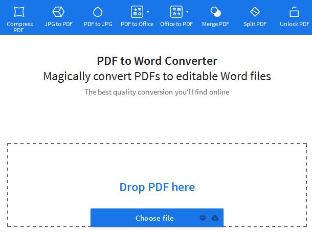 Cara Convert PDF ke Word Online
