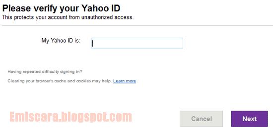 Lupa Password Yahoo - Ini Dia Cara Reset Password Email Yahoo