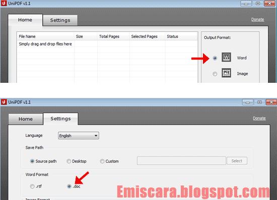 Panduan Cara Merubah File PDF ke Word Dengan UniPDF