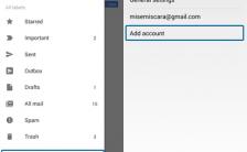 Cara Setting/Menambahkan Akun Yahoo Pada Aplikasi Gmail Android