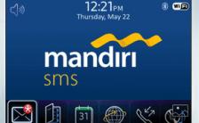 Cara Isi Pulsa Simpati Lewat SMS Banking Mandiri