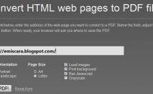 Cara Save atau Convert Halaman Web Ke PDF (HTML to PDF)