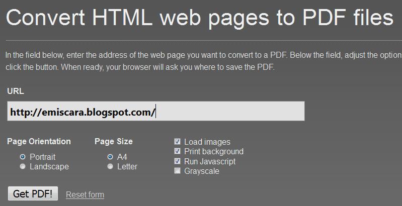 Cara Convert HTM ke PDF Online
