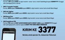 Cara Mudah Cek Tagihan dan Sisa Limit Kartu Kredit Bank Mega, Lewat SMS