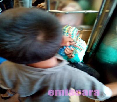 Larangan Makan di Commuter Line Masih Suka Dilanggar
