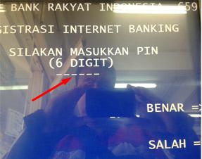 Cara Mudah Daftar Internet Banking BRI di ATM