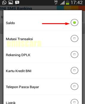 Begini Cara Menggunakan SMS Banking BNI di Android