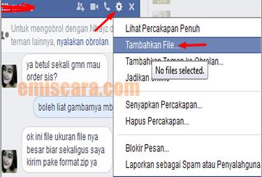 Cara Mengirim File Zip Lewat Facebook
