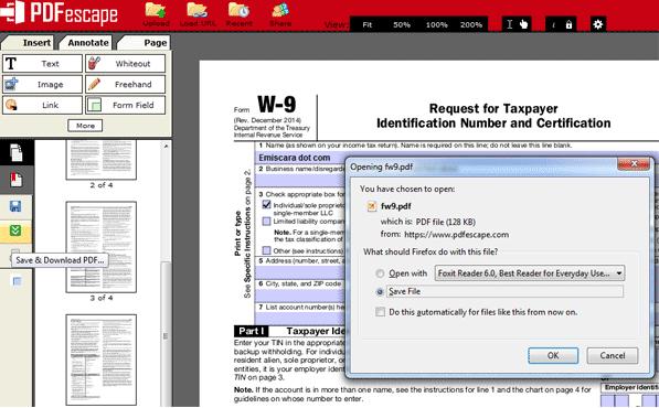 Cara Mengisi Form PDF Secara Online