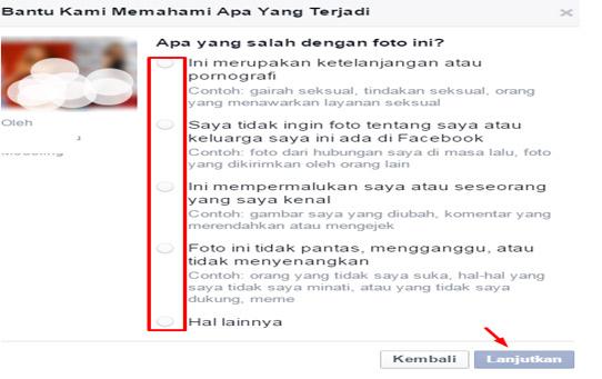 Cara Cepat Melaporkan Akun Facebook Yang Mengganggu