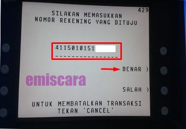Cara Transfer BCA ke BRI Via ATM Disertai Gambar