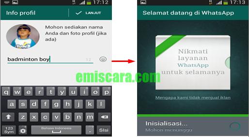 Cara Membuat WhatsApp di HP Samsung