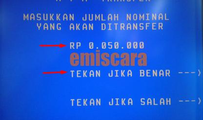 Cara Mudah Transfer dari BNI ke BCA Via ATM
