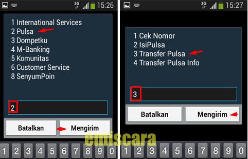 Begini Cara Transfer Pulsa Indosat IM3 dan Mentari