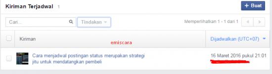 Cara Menjadwal Postingan Status Facebook Otomatis