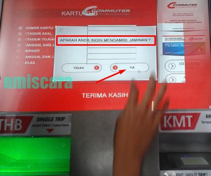 Cara Mengambil Uang Jaminan Commuter Line di Cvim