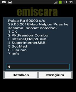 Cara Daftar Paket Super Internet Im3 Bulanan 3,5 GB
