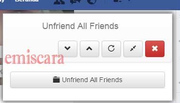 Cara Terbaru Menghapus Teman Facebook Sekaligus Dengan 1 Klik
