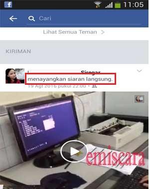 Oh Ternyata Begini Cara Siaran langsung di Facebook Biar Ditonton Orang