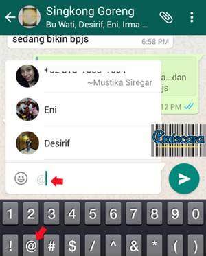 Makin Seru WhatsApp Bisa Colek Teman Di Grup