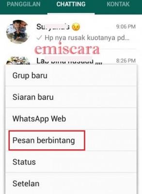Apa Sih Arti Tanda Bintang di Whatsapp Itu?