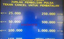 Cara Isi Pulsa HP di ATM BNI – Indosat Ooredoo