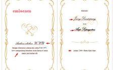 Cara Membuat Contoh Undangan Pernikahan Sederhana Dengan Word 2010