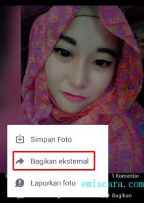 Bagaimana Cara Share Foto Dari FB ke WhatsApp Tanpa Save Dulu
