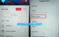 Cara Ganti No Rekening di Bukalapak Dari Android