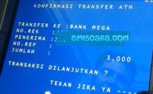 Cara Transfer Dari BNI ke Bank Mega Lewat ATM