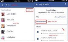 Hapus Riwayat Pencarian Orang di Facebook Lewat HP Dengan Mudah