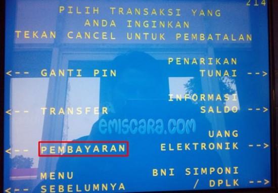 Total Harga Pulsa di ATM BNI Termasuk Administrasi Bank