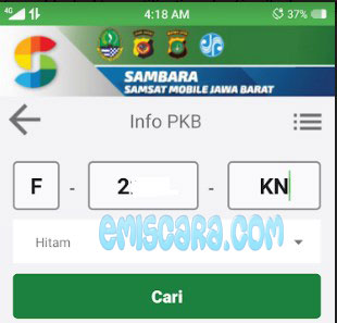 Intip Pajak Motor Online Wilayah Jawa Barat Lewat Handphone