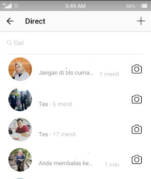 cara menghapus dm instagram sekaligus