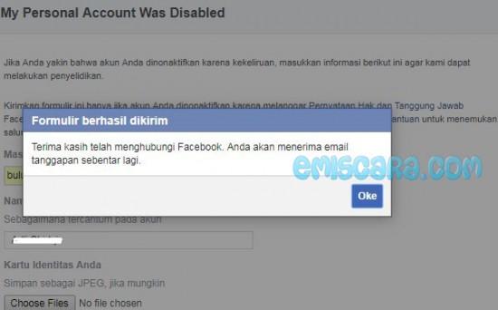 Waduh Akun Facebook Saya Dinonaktifkan Apakah Bisa Aktif Kembali?
