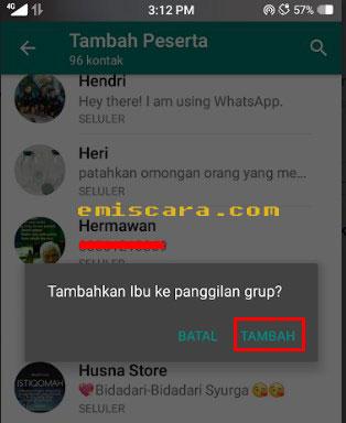 Cara Video Call ke Beberapa Orang di Whatsapp Bersamaan