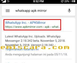 Cara Memunculkan Whatsapp Sticker dengan Mudah
