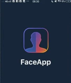 Mengira Ngira Wajah Ketika Tua Dengan Aplikasi FaceApp