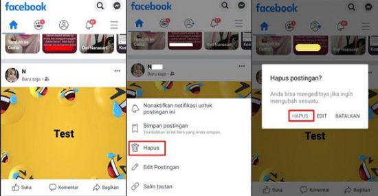 Cara Menggunakan Facebook Untuk Pemula di HP