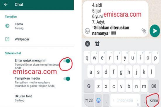 Kesal Tidak Bisa Menambahkan Paragraf Baru di Whatsapp Ini Solusinya
